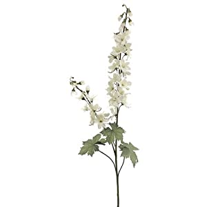 "31"" Delphinium Spray x2 Ivory Pink (pack of 12) 35"