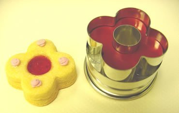 Kaiser Bakeware Linzer Clover Cookie Cutter, Tinned Steel by Kaiser