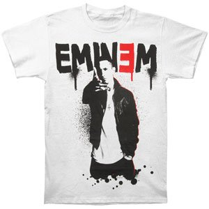 Rockabilia Eminem Sprayed Up T-shirt Large