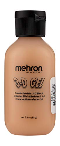 Mehron Makeup 3-D Gel (2 oz) (Fleshtone) -