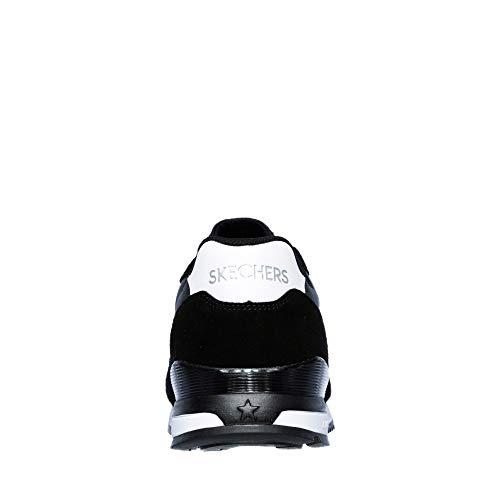 Bianco 48 blk Sneakers 5 Nero waltan Sunlite Skechers 52384 Nero vwU7qIYn