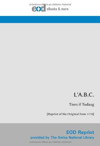 L'A.B.C. (Romansch Edition) pdf