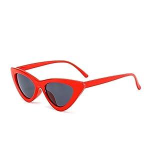 small black white triangle cheap sunglasses red female uv400,Whitegray,50Centimeters