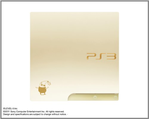 Limited Edition PlayStation3 Slim Console – Ninokuni: Shiroki Seihai no Joou Magical Edition (HDD 160GB Model)