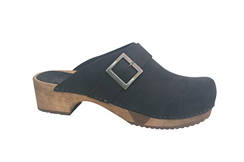 Grit Flex Basic Clogs Black Sanita w48pznP