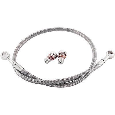 Brake Yzf600 Rear (YAMAHA 2006-2015 YZF 600 R6 GALFER REAR STAINLESS STEEL BRAIDED BRAKE LINE KIT)