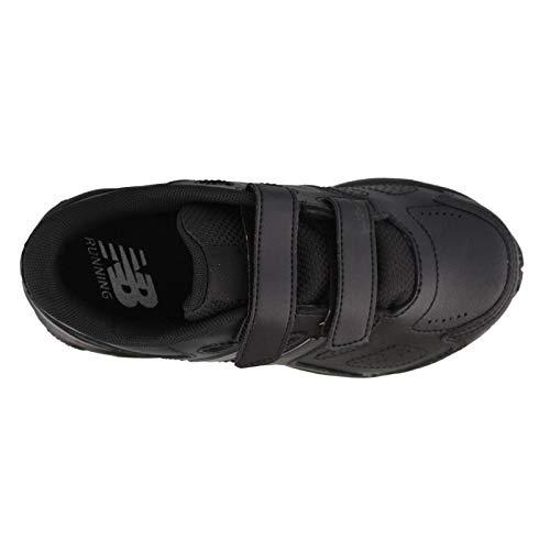 New Balance Boys' 680 V3 School Uniform Shoe, Black, 11 M US Little Kid