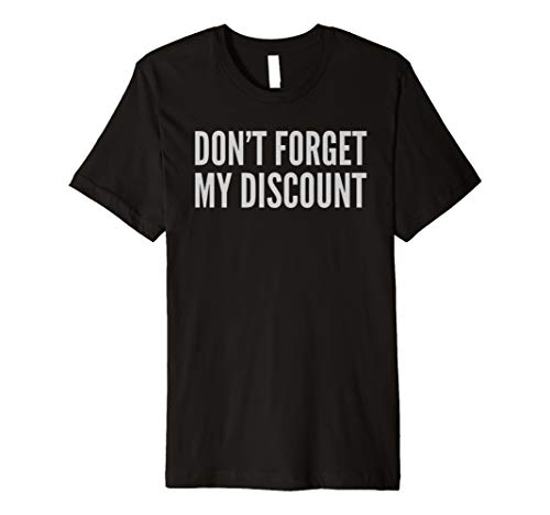 Senior Citizen Discount Elderly Old People Funny TShirt Gift ()