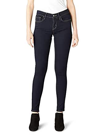 Levi's Kadın 710 Super Skinny Kot Pantolon, Koyu İndigo, 26 32