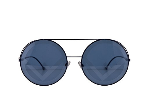 Fendi FF0285/S Sunglasses Blue w/Dark Grey Gradient Lens 63mm PJP8N FF0285S FF 0285S FF 0285/S