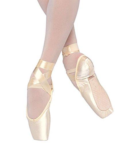 Bloch Kvinners Alfa Fleksible Komfort Ballerina Europeisk Rosa