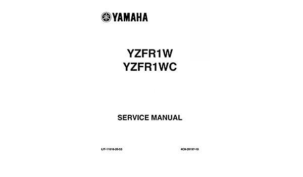 Buy yzf-r1 motorcycle service & repair manuals | ebay.