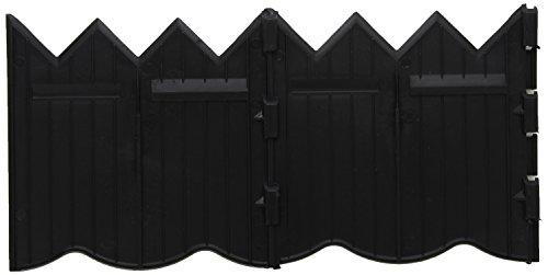 Master Mark Plastics 97220 BorderMaster Poundable Edging 6 Inch by 20 Foot, Black