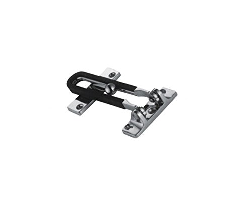 Additional Chain (TOGU Solid Thicken Security Door Chain,Gate Latches Swing Bar Door Guard For Home,Bedroom,Apartment,Hotel,Motel,Dormitory,Satin Nickel)