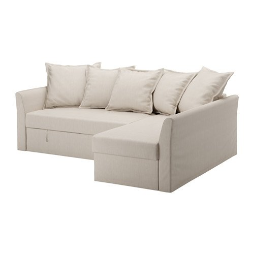 Ikea Cover for sleeper sectional, 3 seat, Nordvalla beige 1028.8511.2234