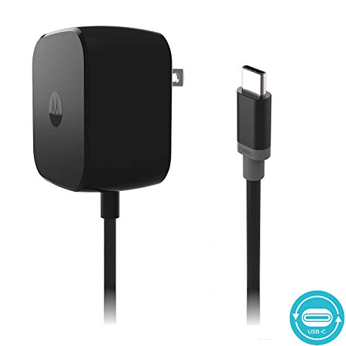 Motorola TurboPower 30 USB-C / Type C Fast Charger - SPN5912A (Retail Packaging) for Moto Z Force ()