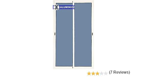 Balconera Aluminio Corredera 1500 ancho x 2000 alto 2 hojas (marco preparado en kit): Amazon.es: Bricolaje y herramientas