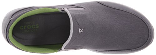 Light Loafer Charcoal Grey Crocs Kinsale on Men's Slip YqYSxFI