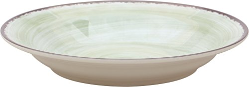 Carlisle 5400346 Mingle Rimmed Soup Bowl 28.5 oz - Jade (6 PER CASE)