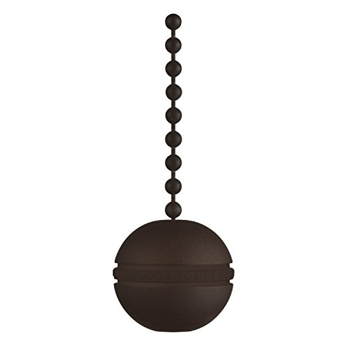 7709600 Oil Rubbed Bronze Ball Pull Chain (Chain Pulls Decorative)