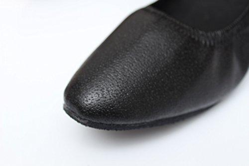 altezza adulti da in ballo ballo moderne UK7 ballo scarpe da cm pelle da Ms con ballo scarpe per da ShangYi danza 7 da EU40 Scarpe CN41 Waltz microfibra morbide donna Pxq1n8S