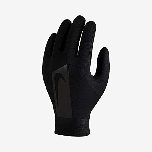 Nike Youth Hyperwarm Academy Field Player Soccer Gloves (Medium, Black)