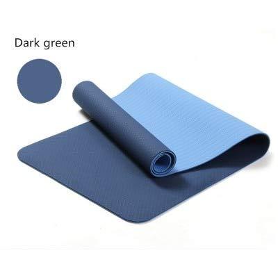 YOOMAT Estera de Yoga TPE de 6 mm Estera de Fitness para ...