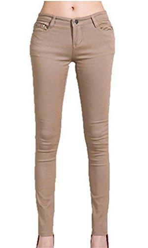 taille Inc Stone noir unique Jeans Femme Vanilla WaFRqq