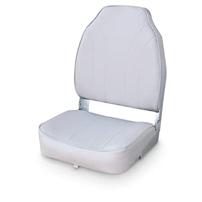 Wise Classic Stripe High Back Boat Seat