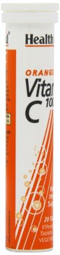 HealthAid Vitamin C 1000mg (Orange) - 20 Effervescent Tablets