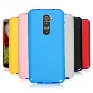 Flexible TPU Silicone Gel Rubber Jelly Case For LG Optimus G2 D802 -*- Color -- Black