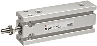 SMC CU Series Stainless steel Air Cylinder, Compact, Double Acting, Free Mounting, Switch Ready, Cushioned