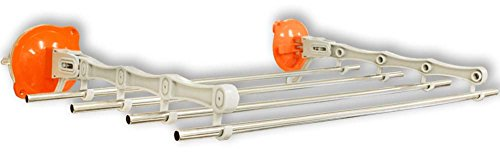 Drying Rack With Stainless Steel Poles And Suction Cup Insta