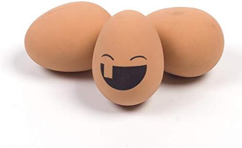 LIMUZHI Pelotas de Huevo de Juguete para Mascotas, Bolas de Goma ...