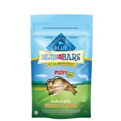 Blue Buffalo Blue Mini Bars Puppy Banana & Yogurt Natural Bi