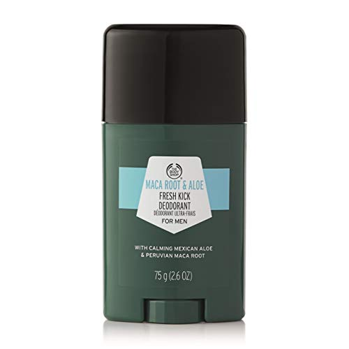 - The Body Shop Maca Root and Aloe Deodorant, 75 Gram