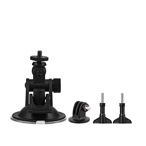 MChoice❤️ Car Windshield Suction Mount Fix Bracket Desktop Stand for DJI OSMO Action Black