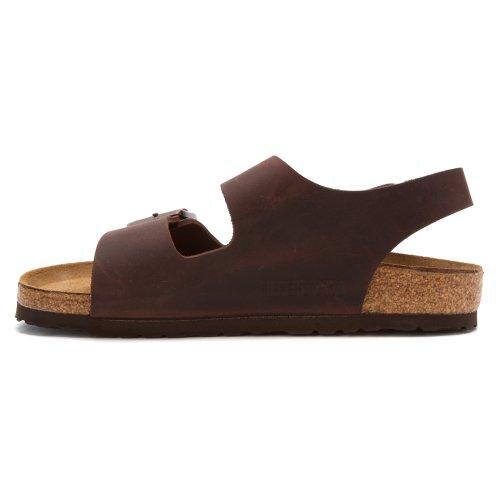 Birkenstock Milano Sandal - Mens Habana Oiled Leather, 43.0
