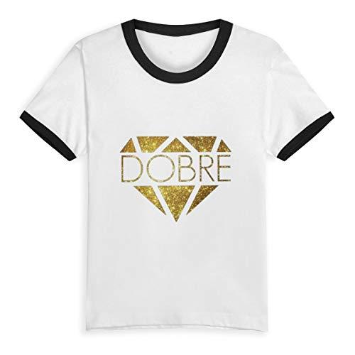 (Amethystly Lucas and Marcus Dobre Kids Shirts Toddler Baby Tee Boys Girls Baseball Short Sleeve T-Shirt)