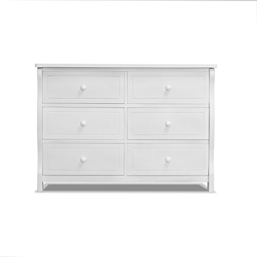 Sorelle Tuscany Double Dresser, White Double Dresser Hutch
