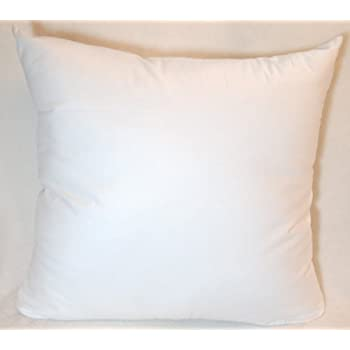 Amazon Com 16x16 Synthetic Down Throw Pillow Insert Home