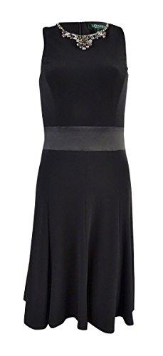 Jeweled Jersey Dress - 8