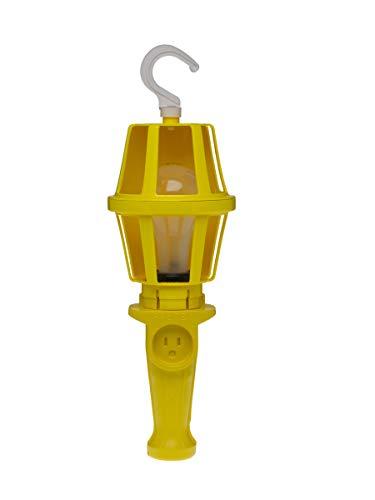 Woodhead 118S Super-Safeway Handlamp, Industrial Duty, Incandescent Bulb, 100W Max Lamp Wattage, Switch, 16/3 SOOW Cord Type by Woodhead (Image #2)