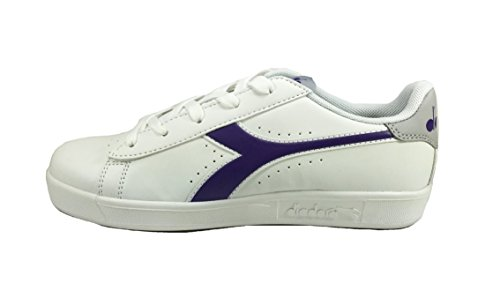da P 3323 Ginnastica Diadora Bianco Sneaker Basse GS Woman Game Scarpe Donna fd8wfa