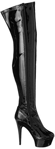 Ellie Mujeres 6 Stiletto Stiletto Heel Thigh High Stretch Botas. Tamaño 9