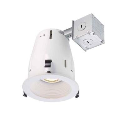 Commercial Electric 4 in. Recessed White Gimbal Kit
