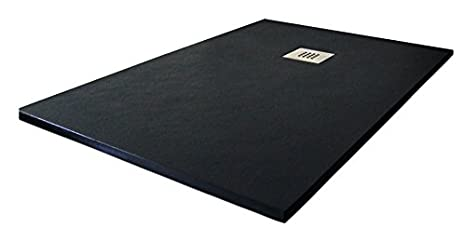 1015 70x140cm Beige Ral Plato ducha resina textura pizarra Slate