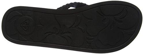 Blk Roxy Plage amp; Chaussures Porto Piscine Femme black De Noir Ii Ix6qvrI