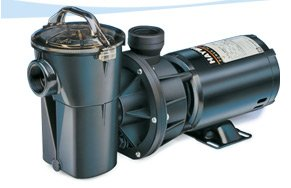 (Hayward SP1580TL PowerFlo LX 1 HP Above-Ground Swimming Pool Pump, Twist Lock Cord)