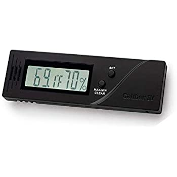 HygroSet® Adjustable Digital Hygrometer Round Specifically for Front Mounting